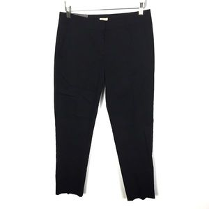J. Crew Factory City Fit Black Skimmer Pant